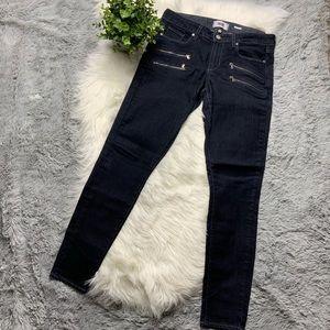 PAIGE Edgemont Double Zip Skinny Jean NWOT